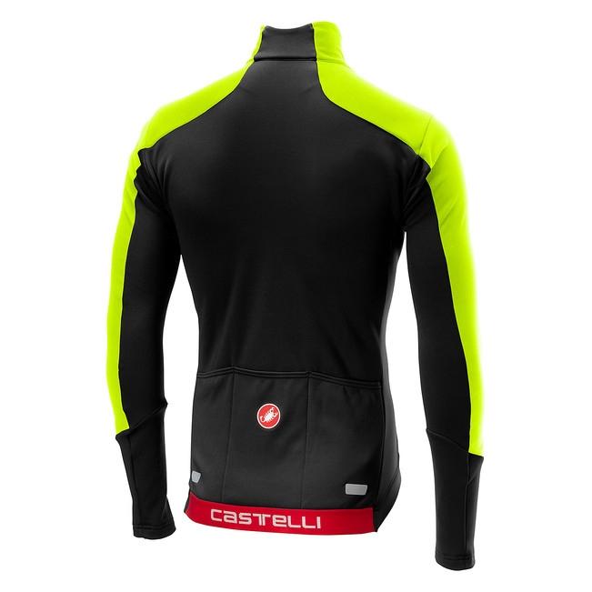 Tricou cu maneca lunga Castelli Transparente 4, Negru/Verde, L [6]