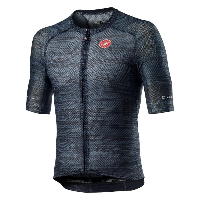 Tricou cu maneca scurta Castelli Climbers 3.0 Dark Steel Blue S [0]
