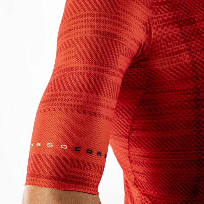 Tricou cu maneca scurta Castelli Climbers 3.0 Fiery Red S [5]