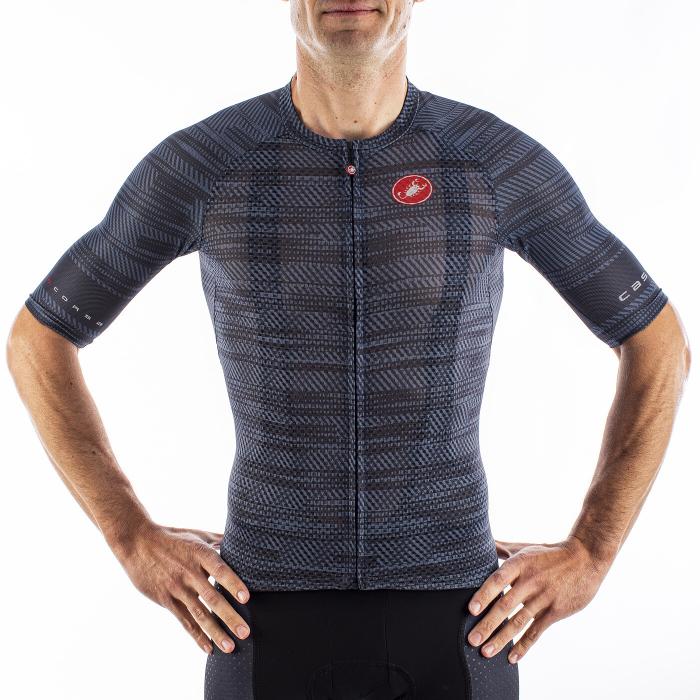 Tricou cu maneca scurta Castelli Climbers 3.0 Dark Steel Blue S [2]