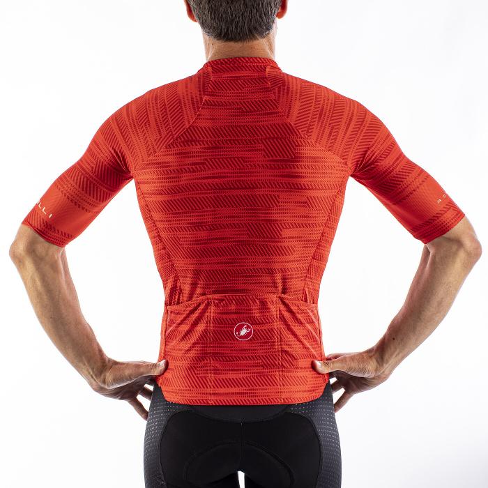 Tricou cu maneca scurta Castelli Climbers 3.0 Fiery Red S [4]