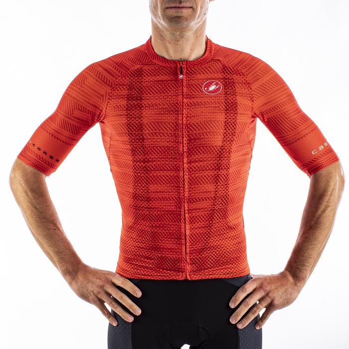 Tricou cu maneca scurta Castelli Climbers 3.0 Fiery Red S [2]