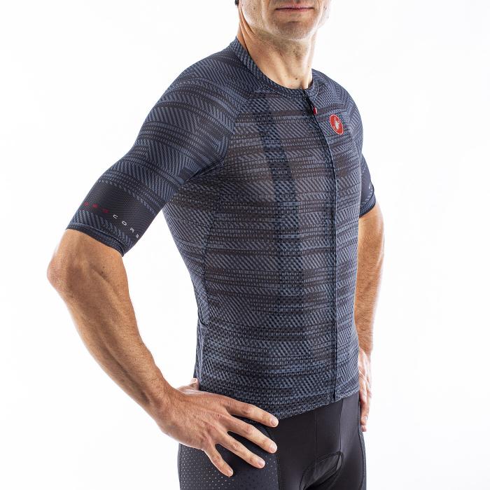 Tricou cu maneca scurta Castelli Climbers 3.0 Dark Steel Blue S [3]