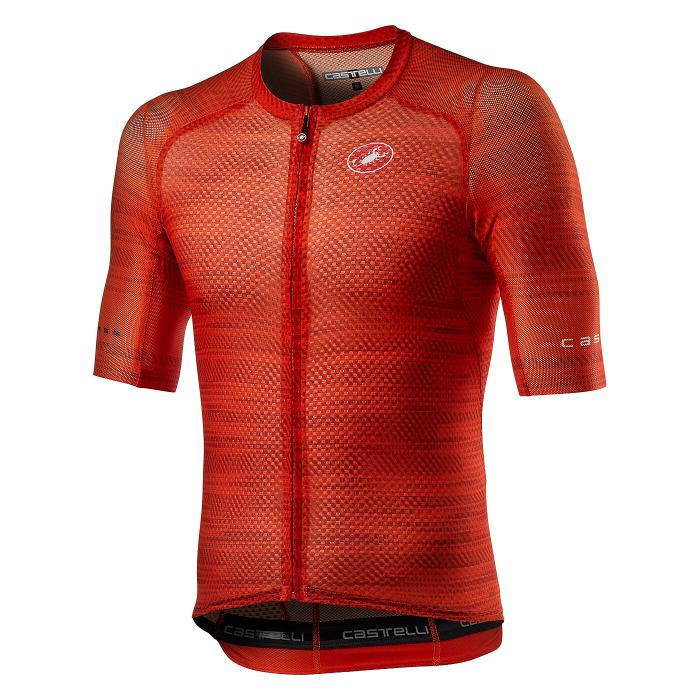 Tricou cu maneca scurta Castelli Climbers 3.0 Fiery Red S [0]