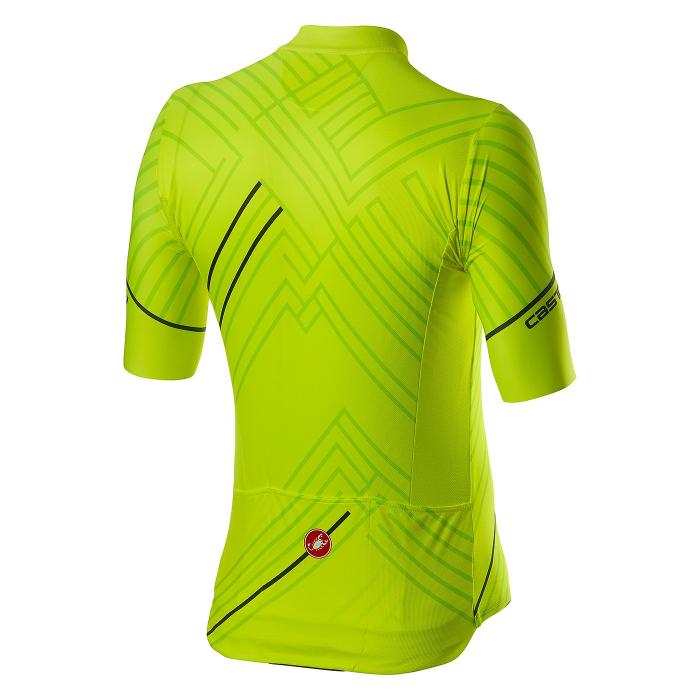 Tricou cu maneca scurta Castelli Passo Verde Neon XL [1]