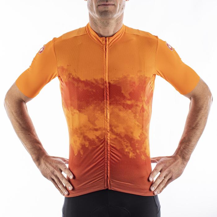 Tricou cu maneca scurta Castelli Polvere Orange S [2]