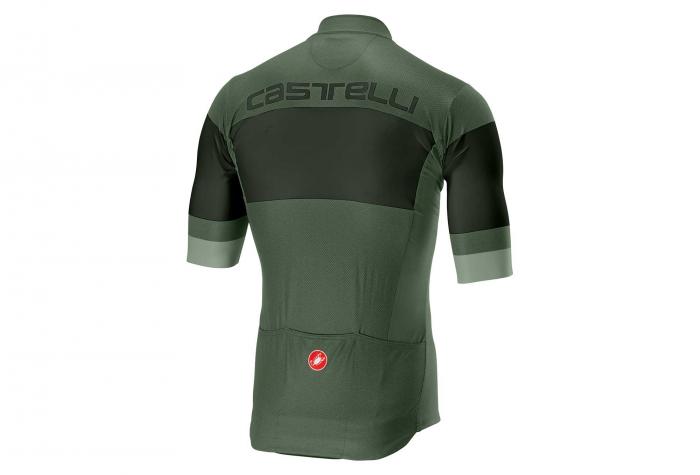 Tricou cu maneca scurta Castelli Ruota FZ, Vernil, L [1]