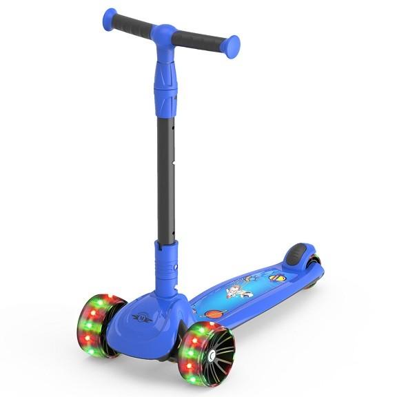 Trotineta copii Megawheels Albastru, 3 roti [0]