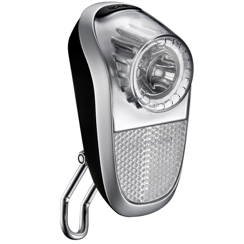 Lumina fata Union UN-4960 silver baterii alcaline negru/argintiu AM [0]