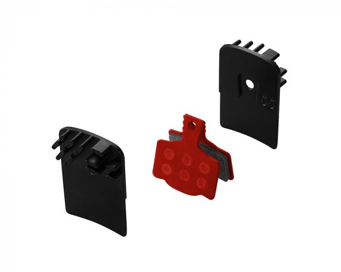 Placute frana metalice cu radiator Union DBP-55SC-set Magura MT2/MT4/MT6/MT8 [0]