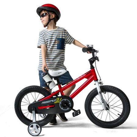 Bicicleta RoyalBaby Freestyle 16'' Red [3]