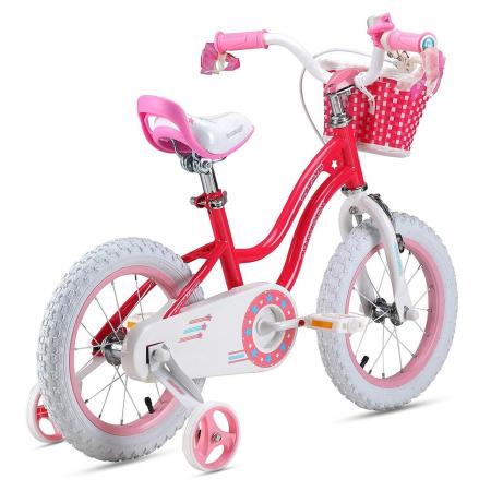 Bicicleta RoyalBaby Star Girl 16'' Pink [1]