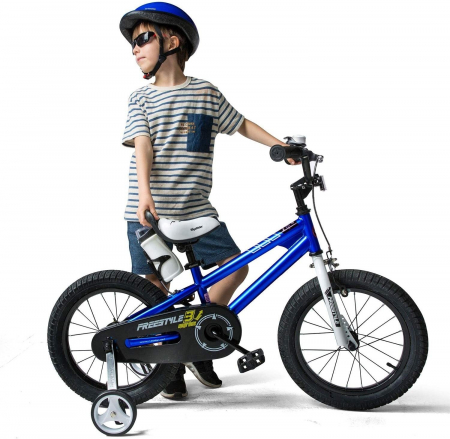 Bicicleta RoyalBaby Freestyle 16'' Blue [2]