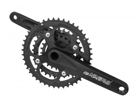 Angrenaj pedalier Force Nine3.3 AL 44/32/22T 175 mm negru [0]