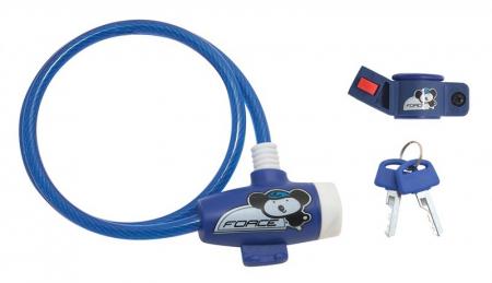Antifurt Force pentru copii 80cm/8mm albastru [0]