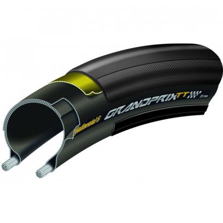 Anvelopa pliabila Continental Grand Prix TT 25-622 negru/negru [3]