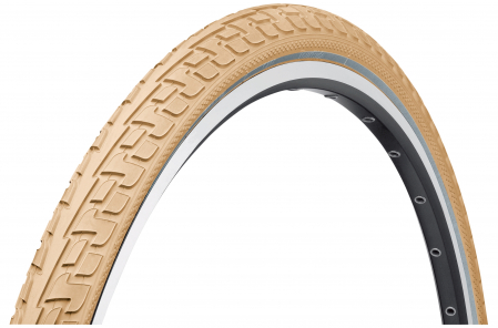 Anvelopa rigida Continental Tour Ride Puncture-ProTection Reflex, 28x1.6 (42-622), crem