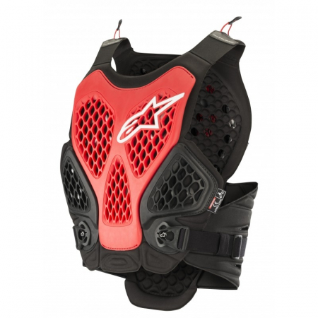 Armura Alpinestars Bionic Plus Protection Vest Negru/Rosu M/L [3]