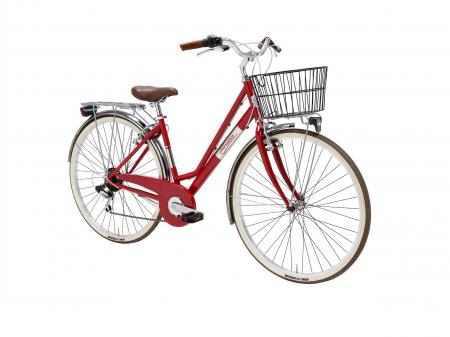 Bicicleta Adriatica Panarea Lady 28 Rosu/Alb 450mm [1]
