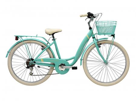 """Bicicleta Adriatica Panda 26"""" Lady 6V 42cm rosu mat [1]"""