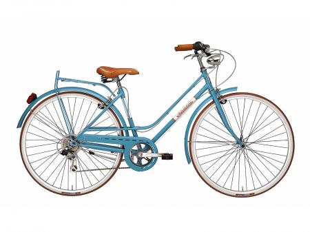 Bicicleta Adriatica Rondine Lady 28 6V verde 45 cm [1]