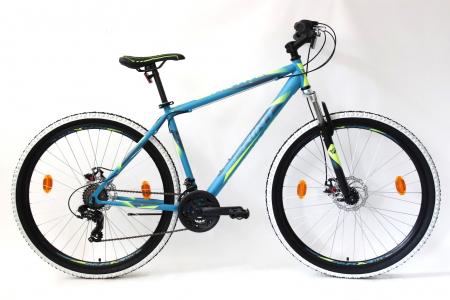 """Bicicleta MTB Sprint Active 29"""" 2021 Turcoaz mat 480 mm [0]"""