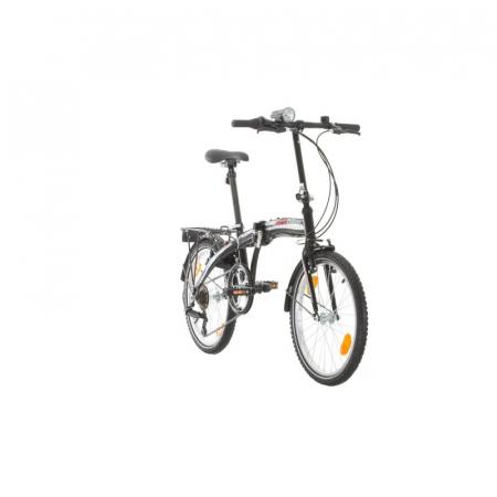 Bicicleta pliabila Sprint Probike Folding 20 6sp Negru [1]