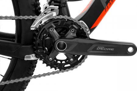 Bicicleta Rock Machine Blizz CRB 20-29 29'' Negru/Portocaliu [3]