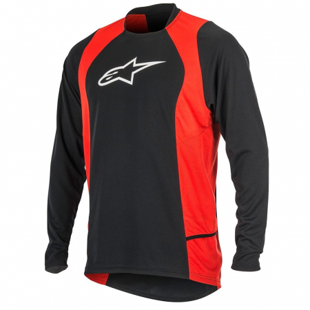 Bluza Alpinestars Drop 2 long Sleeve Jersey black/red S [0]
