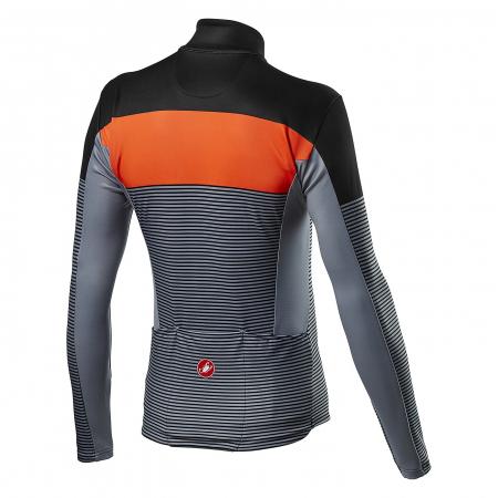 Bluza Termica Castelli Marinaio Jersey Negru/portocaliu/Gri 3XL [1]
