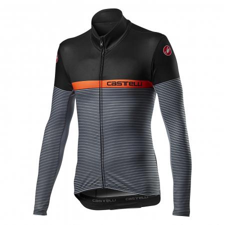Bluza Termica Castelli Marinaio Jersey Negru/portocaliu/Gri 3XL [0]