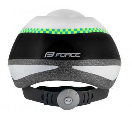 Casca copii Force Fun Police negru/gri S [1]