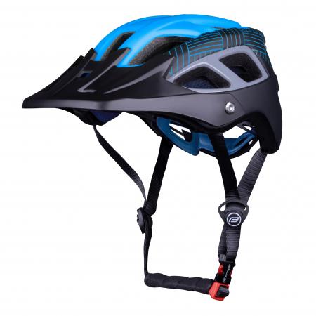 Casca Force Aves MTB E-bike, albastru/negru mat L/XL [1]
