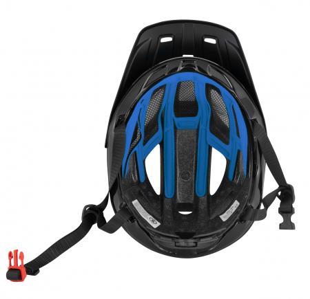 Casca Force Aves MTB E-bike, albastru/negru mat L/XL [5]