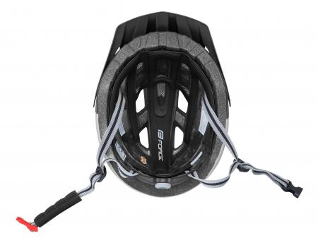 Casca Force Corella MTB negru/gri L/XL [3]