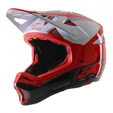 Casca fullface Alpinestars Missile PRO Cosmos red/white/glossy L [0]
