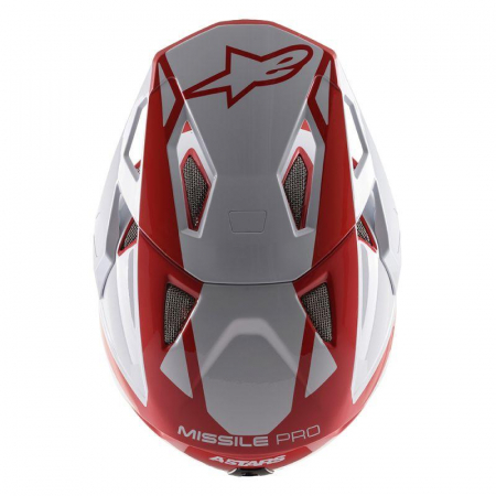 Casca fullface Alpinestars Missile PRO Cosmos red/white/glossy L [6]