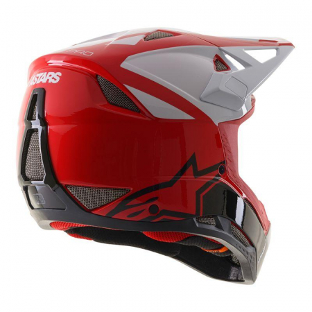 Casca fullface Alpinestars Missile PRO Cosmos red/white/glossy L [4]