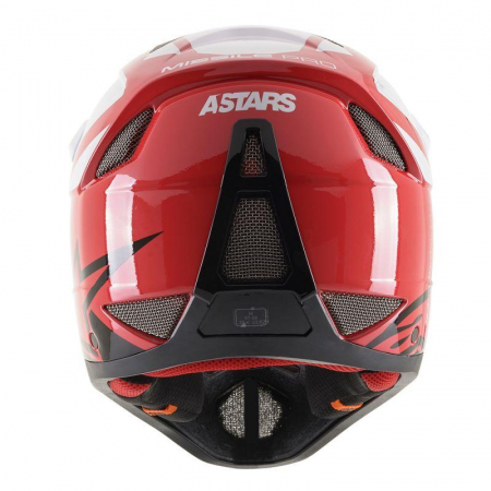 Casca fullface Alpinestars Missile PRO Cosmos red/white/glossy L [5]