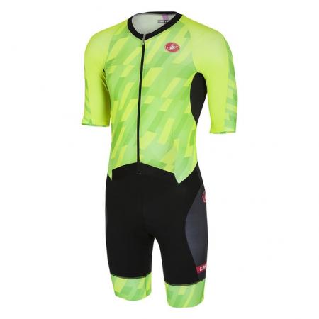 Costum de triatlon cu maneca scurta Castelli All Out Speed [0]
