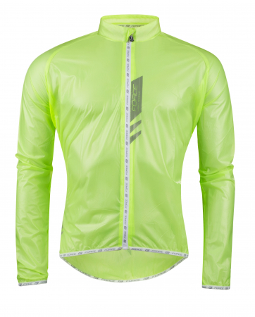 Jacheta Force Lightweight verde fluo SLIM L [0]