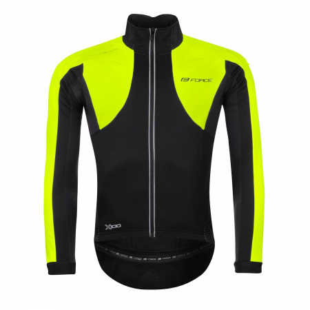 Jacheta Force X100 pentru iarna negru-fluo XS [0]