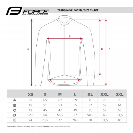 Jacheta Force X100 pentru iarna negru-fluo XS [3]