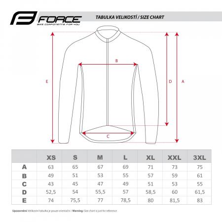 Jacheta Force X100 pentru iarna negru-fluo XXL [3]