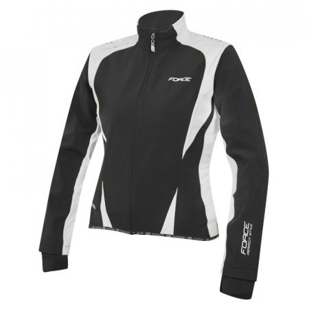 Jacheta Force X71 Lady softshell negru alb L [1]
