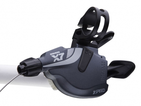 Manete schimbator SRAM X7 Trigger Set 2x10 viteze antracit [1]
