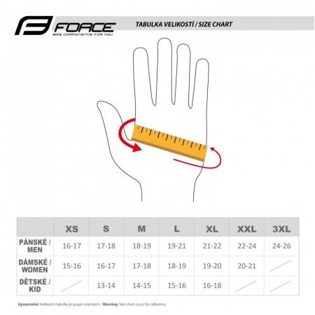 Manusi Force MTB Angle, rosu/negru L [4]