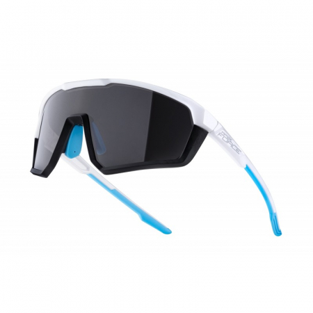Ochelari Force Apex lentila negru contrast, alb/bleu [0]