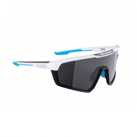 Ochelari Force Apex lentila negru contrast, alb/bleu [1]