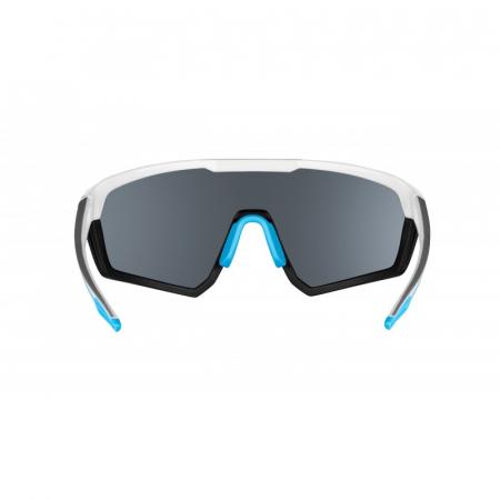 Ochelari Force Apex lentila negru contrast, alb/bleu [3]